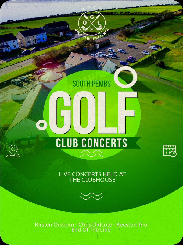 South Pembs Golf Club Concerts