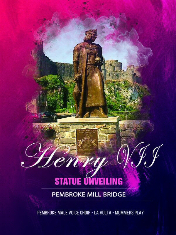 Henry VII Statue Unveiling