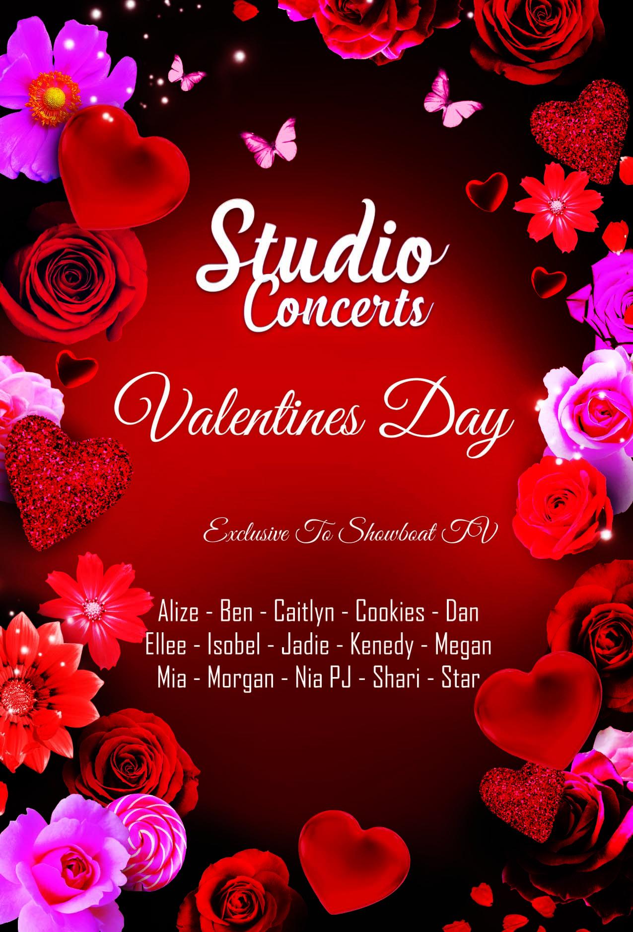 Valentines Studio Concert