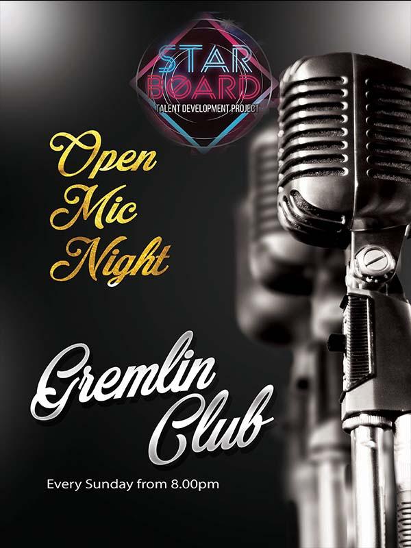 Gremlin Open Mic Night